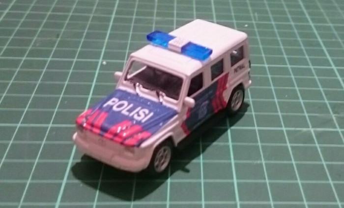 harga Diecast skala 1 64 mercedes-benz g class custom polisi indonesia pjr p Tokopedia.com