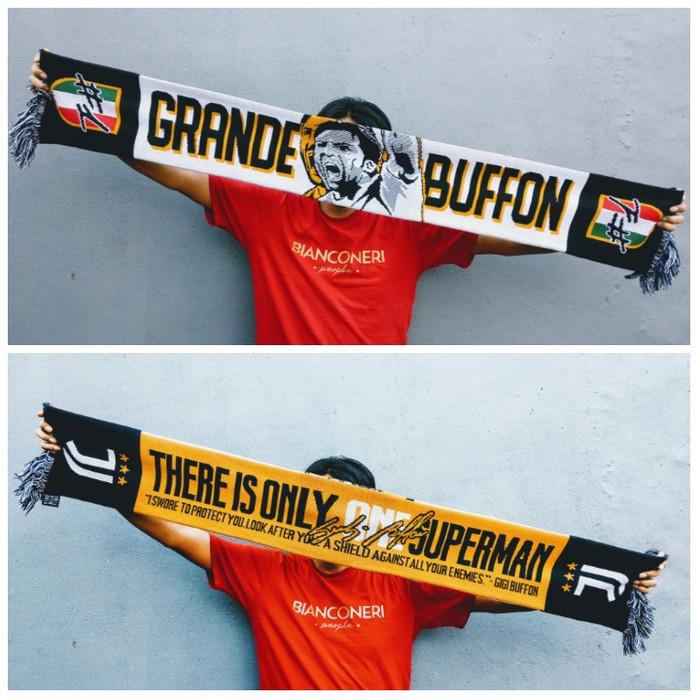 harga Syal juventus grande buffon scarf Tokopedia.com