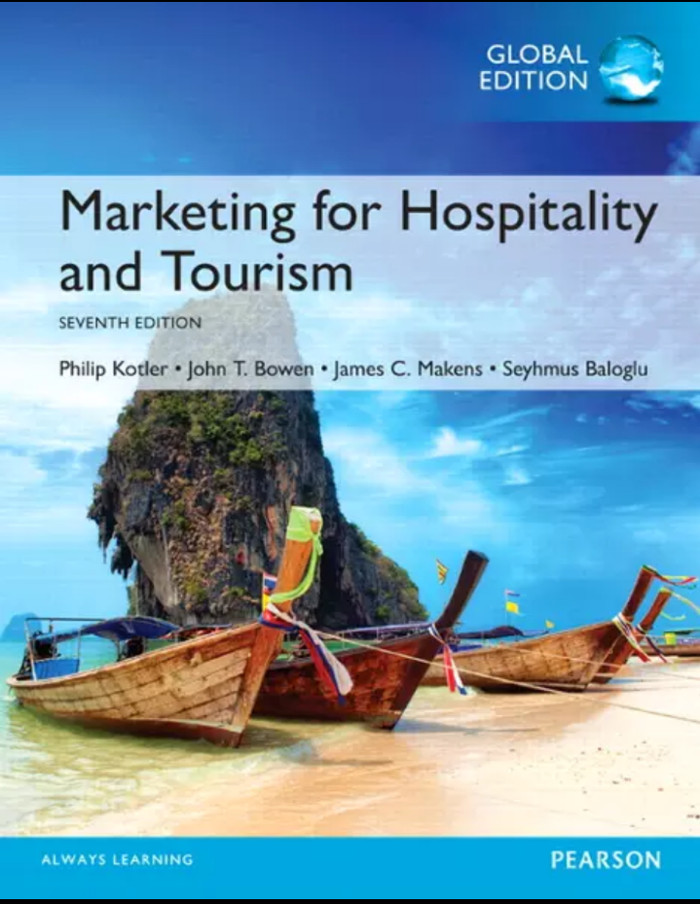 harga Marketing for hospitality and tourism 7th edition by kotler Tokopedia.com