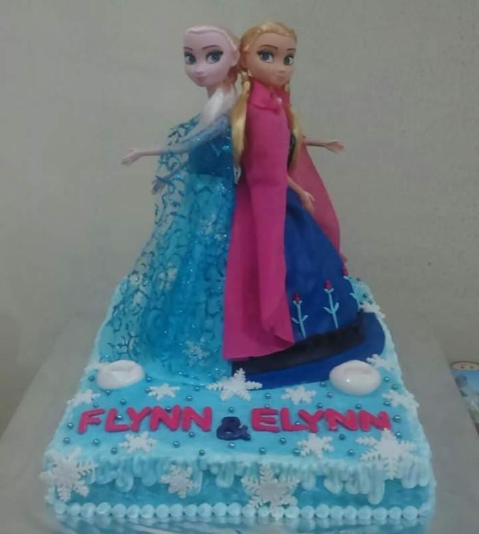Jual Kue Ulang Tahun Frozen Birthday Cake Medan Kota Medan Warung Sawarga Tokopedia