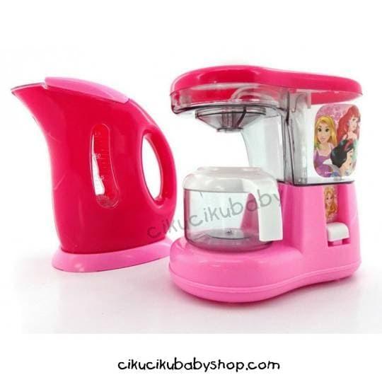 Jual Mainan Edukasi Disney Princess Kitchen Set Coffee Maker Water Th Kota Bandung Ciku Baby Shop Tokopedia