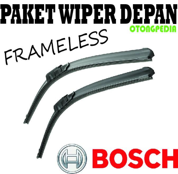 harga Paket wiper daihatsu ayla - bosch frameless 20/14 Tokopedia.com