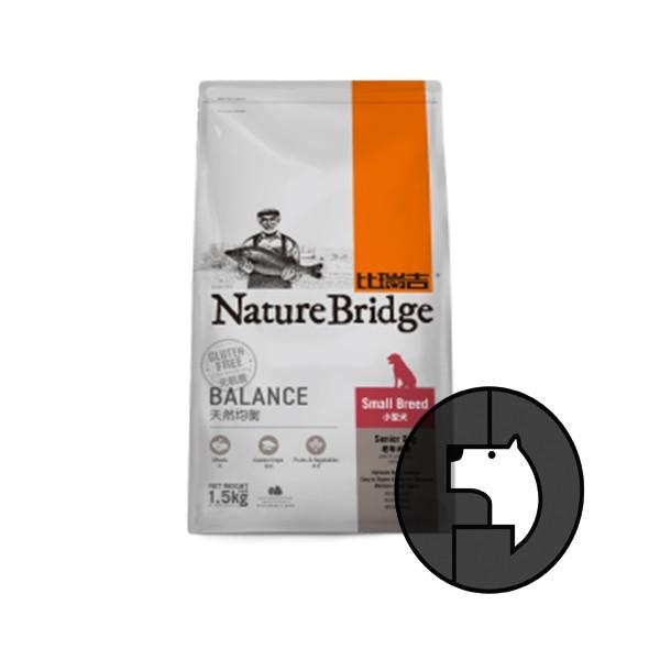 harga Exp 09 may 18 naturebridge 1.5 kg dog senior small breed balance Tokopedia.com