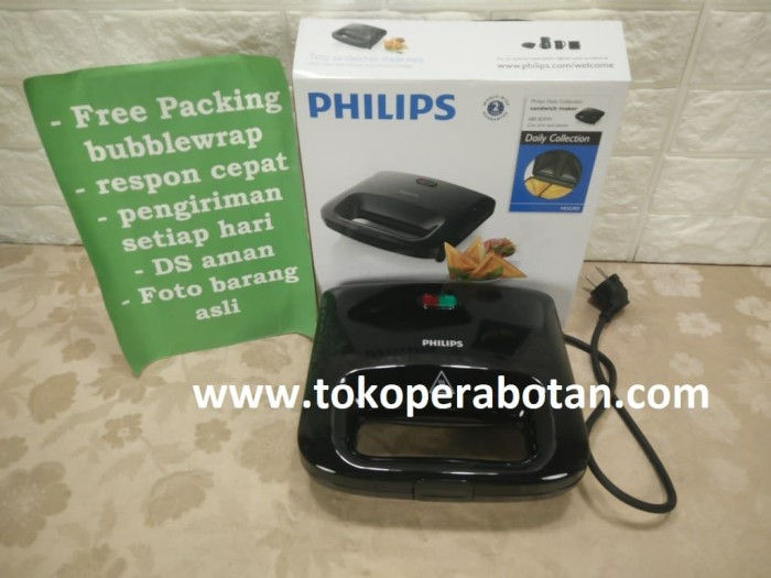 Toaster / Pemanggang Roti Sandwich Philips HD-2393
