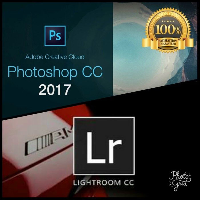 harga As paket adobe photoshop cc 2017 & lightroom 6.12 Tokopedia.com