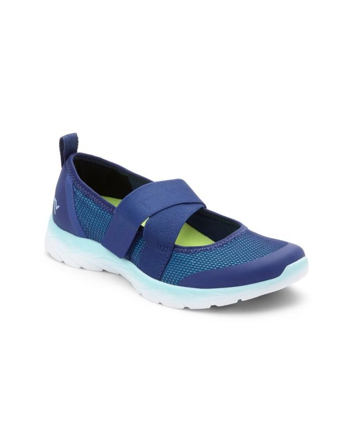 vionic pace blue sepatu olahraga wanita - biru 38