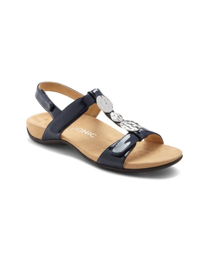vionic farra navy sandal wanita - navy 39