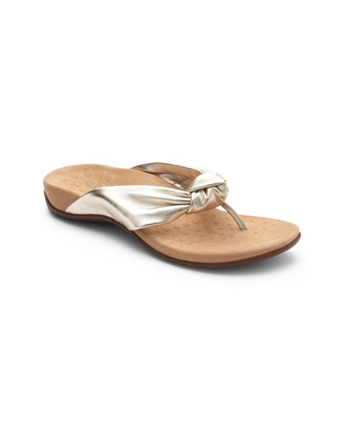vionic pippa champagne sandal wanita - titanium 41