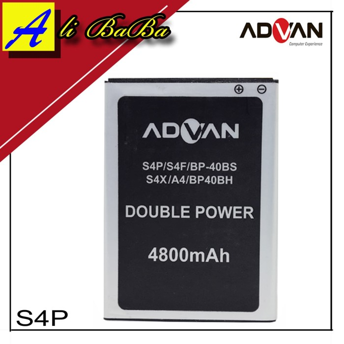 harga Baterai handphone advan s4p s4f s4x bp-40bs bp-40bh double power advan Tokopedia.com