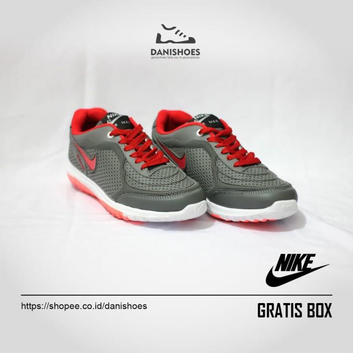 harga Sepatu sport nike airmax sneakers cowok olahraga running pria wanita Tokopedia.com