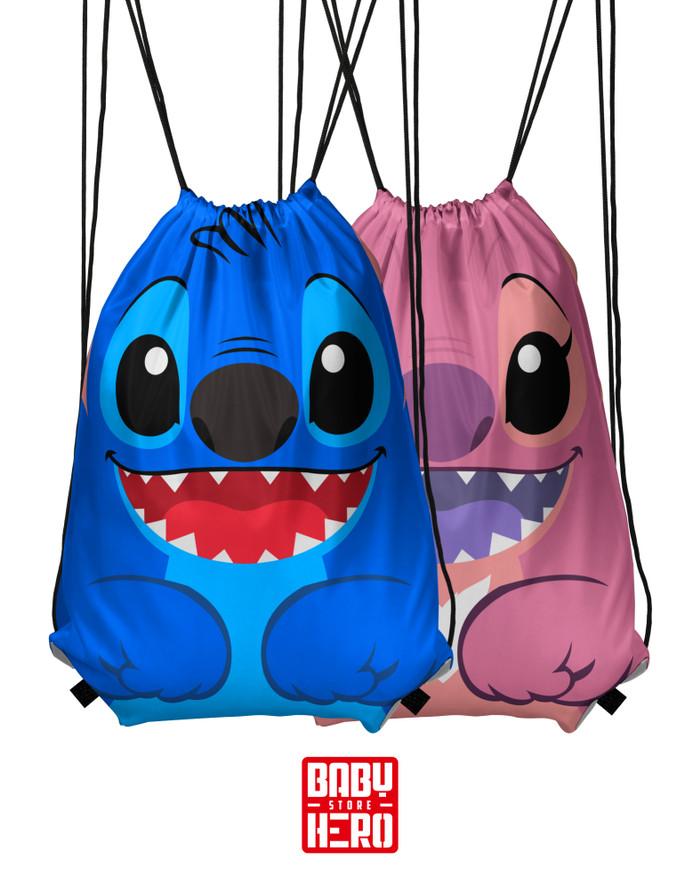 harga Ready stock - tas serut karakter - stitch ds-006 Tokopedia.com