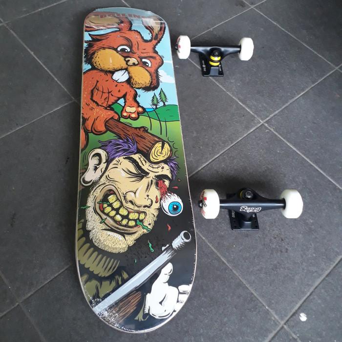 harga Boiling skateboard fullset 7.8 Tokopedia.com