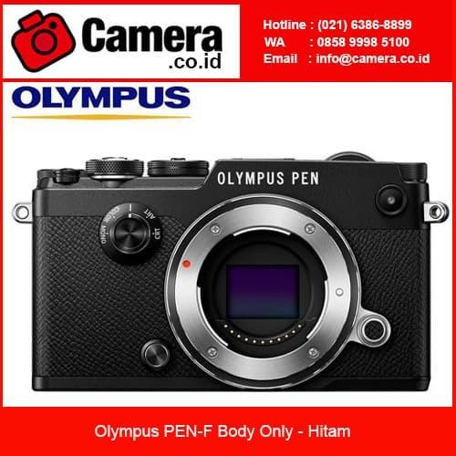 harga Olympus pen-f body only - hitam kamera mirrorless Tokopedia.com