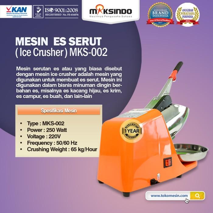 harga Mesin es serut (ice crusher- mks002) Tokopedia.com