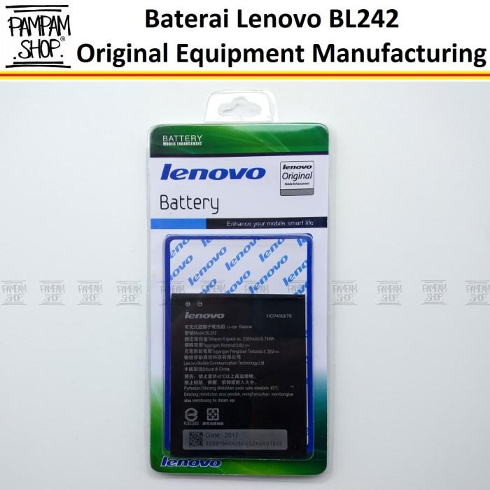 harga Baterai handphone lenovo a6600 + plus bl242 original | bl 242 a6600+ Tokopedia.com