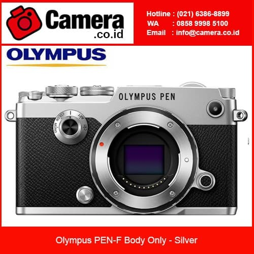 harga Olympus pen-f body only - silver kamera mirrorless Tokopedia.com