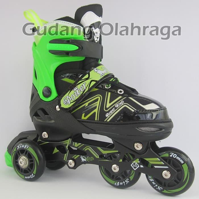 Jual Sepatu Roda BAJAJ Ban KARET Inline Skate PU Wheels Anak dan ... 0d2fb47d6b