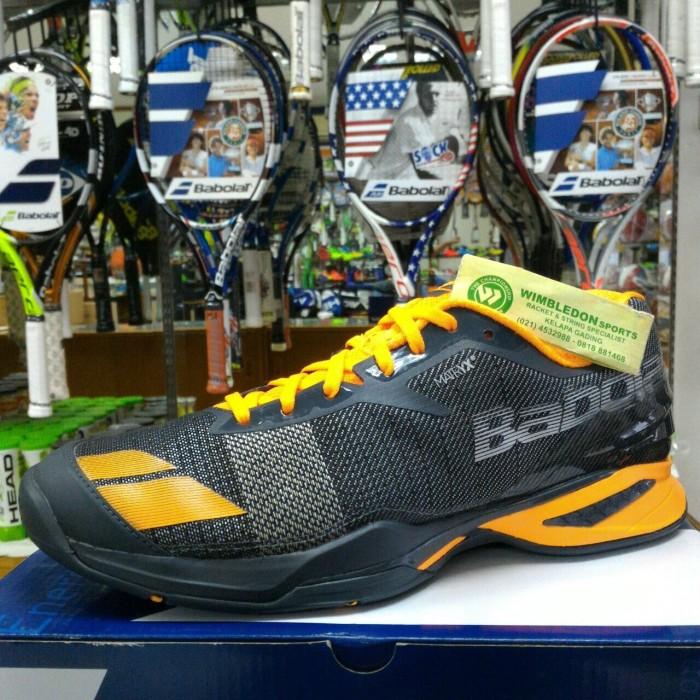 harga Sepatu tenis babolat jet all court grey orange / sepatu babolat jet ac Tokopedia.com