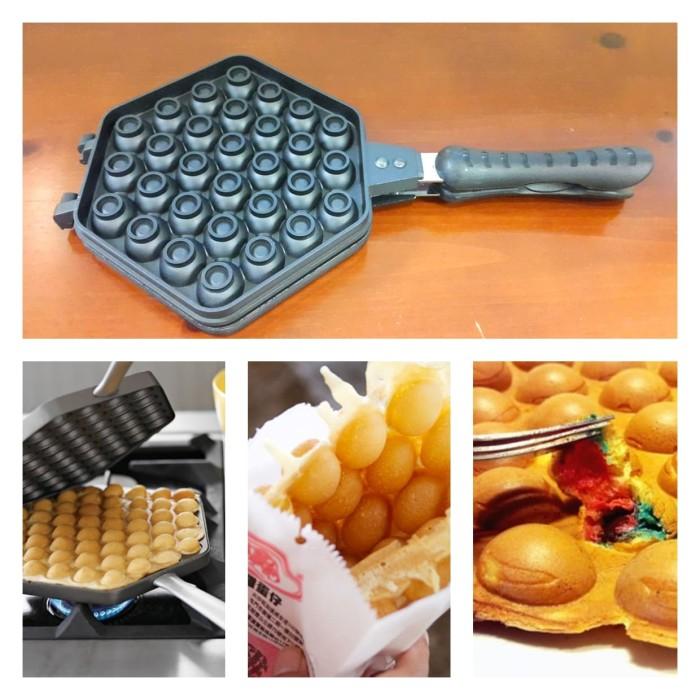 harga Cetakan egg waffle / egg waffle pan / egg waffle maker + resep Tokopedia.com