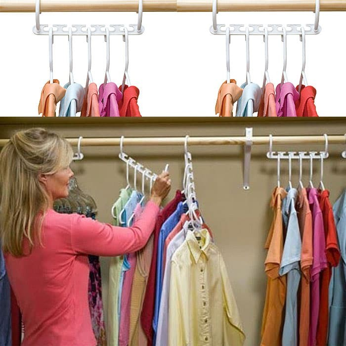 harga Wonder hanger magic gantungan baju pakaian muat banyak 1 box isi 8pc Tokopedia.com