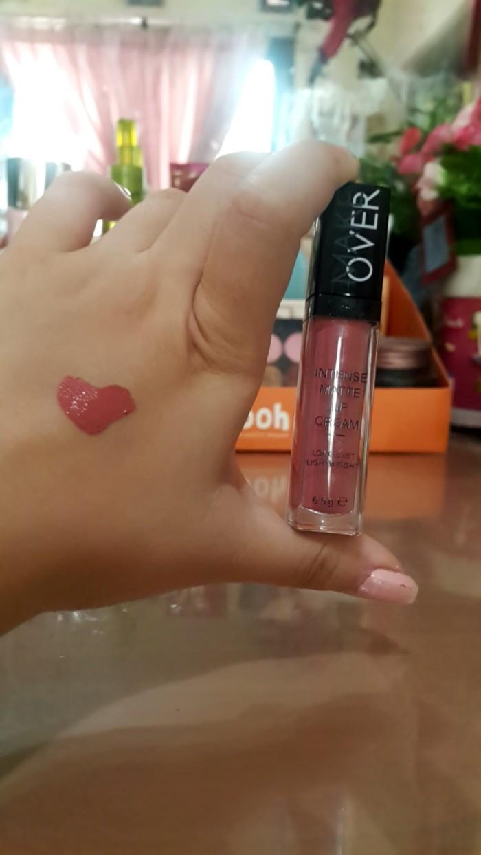 Jual Makeover Intense Matte Lip Cream No 3 Secret Pretty Journey Make Over 003