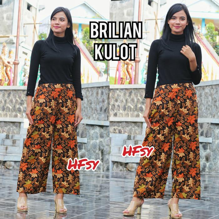 Jual celana kulot batik kekinian murah casual - rayyan batik  709dfb3a60