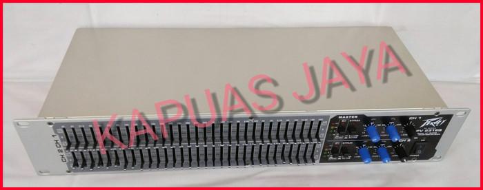 harga Equalizer peavey pv 231eq dual 31 band graphic equalizer Tokopedia.com
