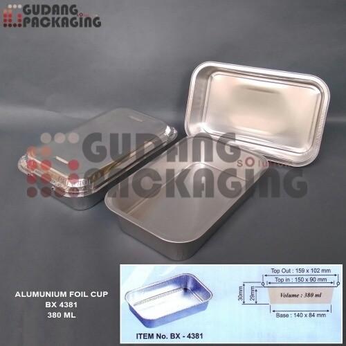 Foto Produk alumunium foil cup BX 4381 + tutup dari gudang-packaging