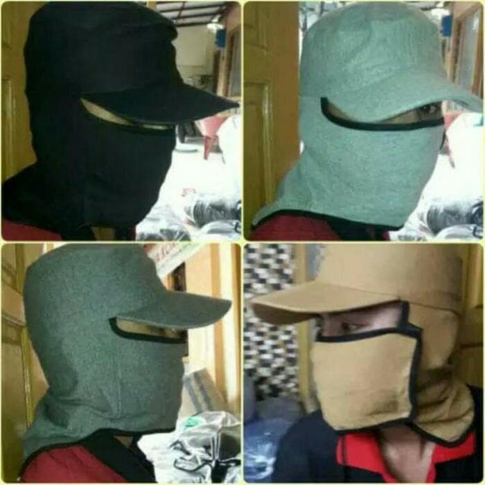 Jual Topi Jepang Pancing Masker Samping Murah Kualitas Terjamin ... 09f615442f