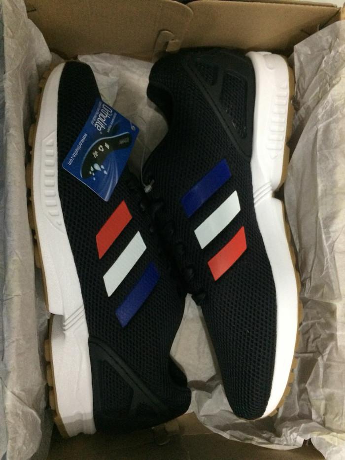 9910ac1401418 Jual Sepatu Original Adidas ZX Flux Import BNIB 100% Men - Black ...
