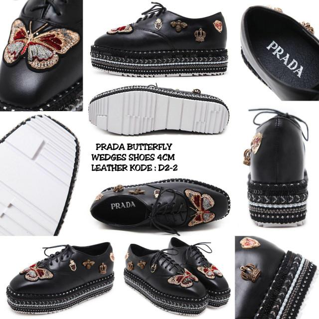 Jual sepatu PRADA D2-2 - JLO SHOP  7eae0be29e
