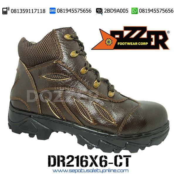 Dozzer DR216X6-CT, Sepatu Safety Trekking Keren dan Murah