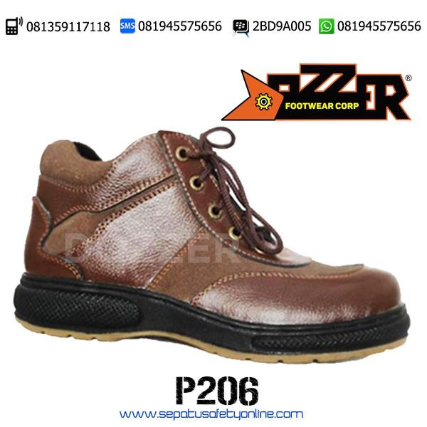 Sepatu Safety Keren dan Murah P206