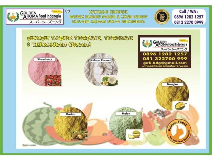 Bumbu tabur rasa buah. 0896-1282-1257 (wa/call) fruity seasoning