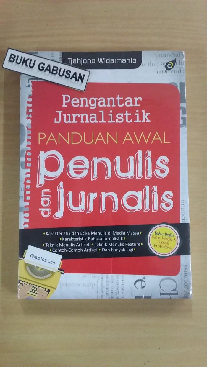 Jual Buku Pengantar Jurnalistik Panduan Awal Penulis Jurnalis Ori