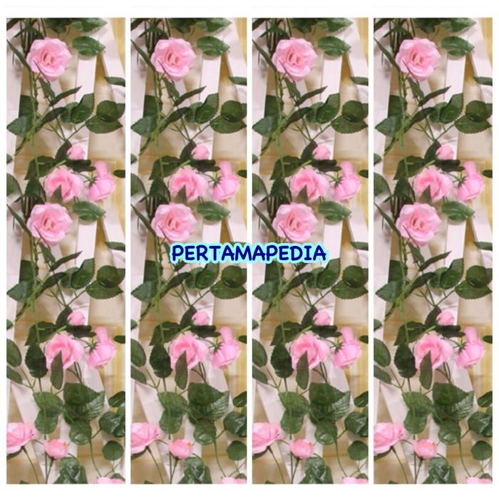 harga Mawar rambat plastik/ mawar rambat palsu /mawar rambat hias sintetis Tokopedia.com