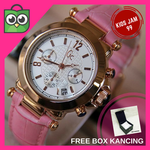Guess Collection Gc Y03006l1 Jam Tangan Wanita Leather Brown Silver Source Promo Jam .