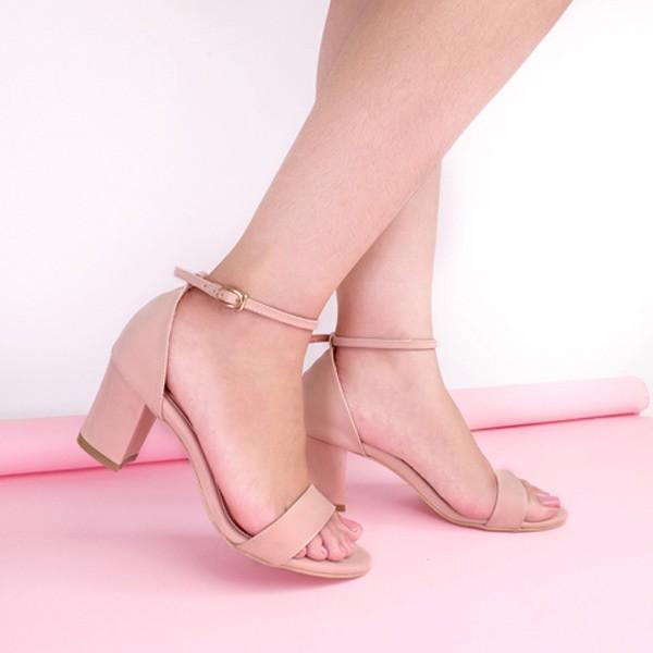 Amazara nadine pink heels - merah muda 41