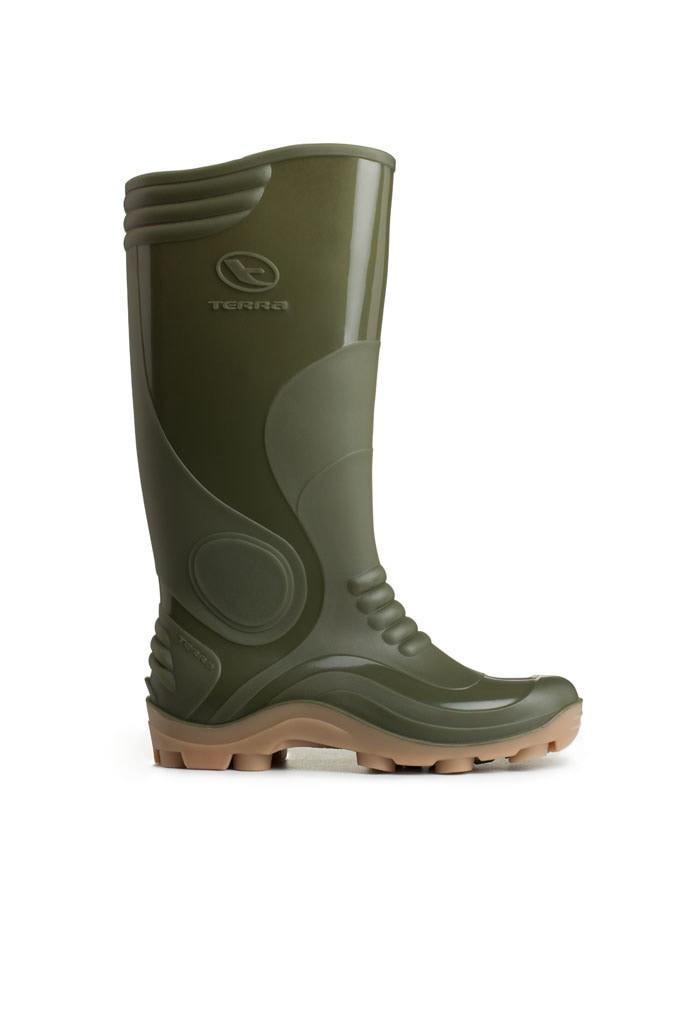 ap boots 9506 gr sepatu boot tinggi hijau original perkebunan lapangan c5e43e82c4