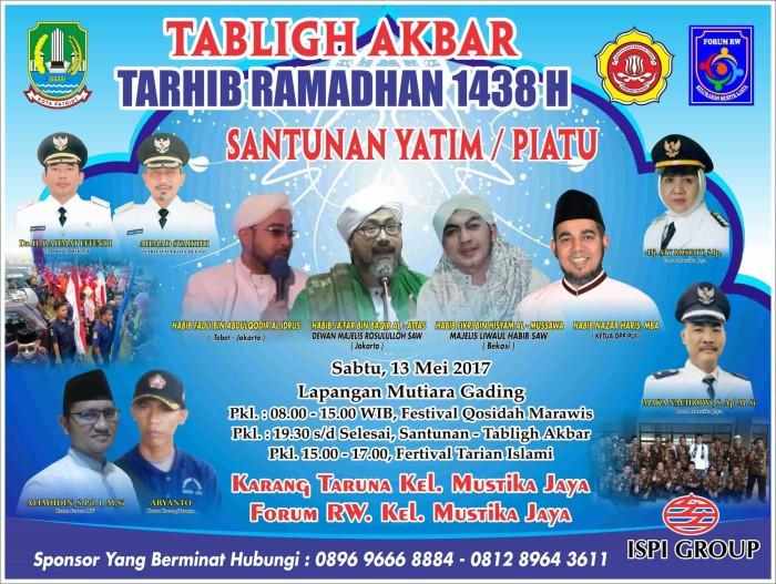Spanduk Banner Tagligh Akbar M