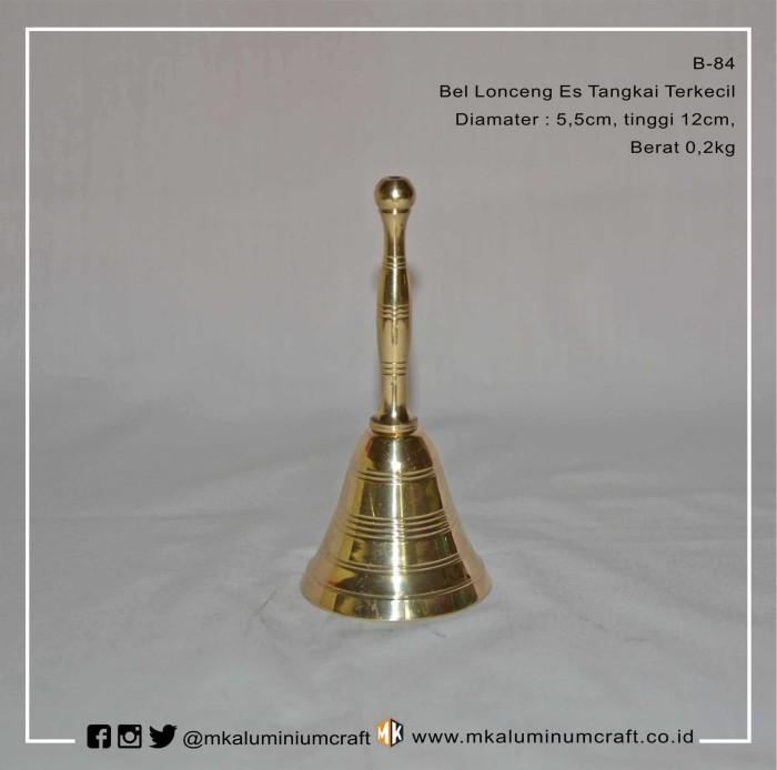 Foto Produk Bel Lonceng Klinting Es Tangkai Terkecil Kuningan - Brass dari MK Aluminium