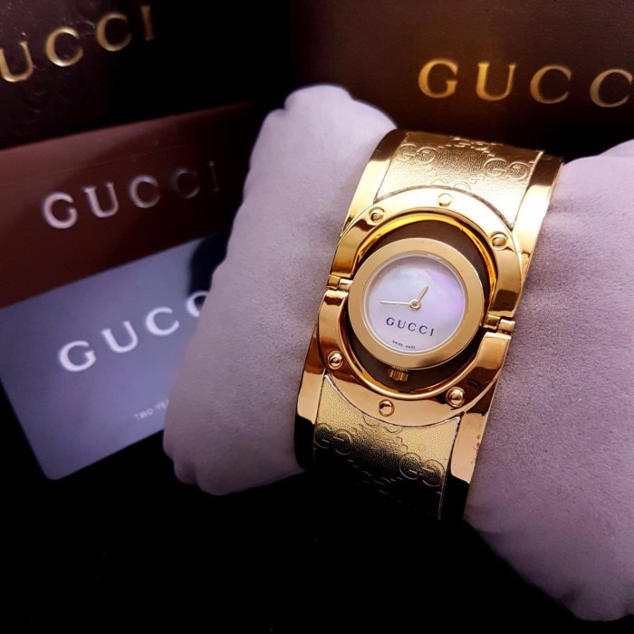 Jam Tangan Wanita Merk Gucci 1510 Ori BM Free Jne yes