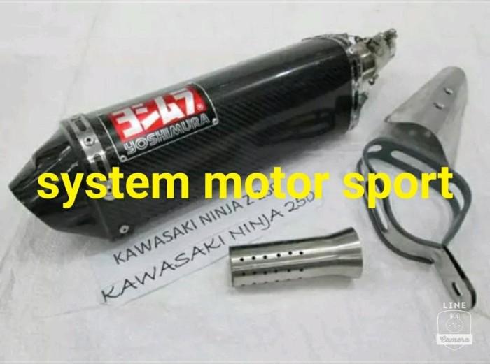 harga Original knalpot yoshimura thailand ninja250-n250carbu-n250fi-z250fi Tokopedia.com
