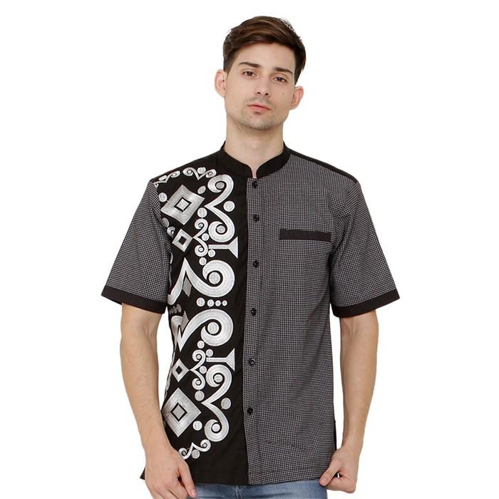 Promo jsr 026 baju koko batik pria java seven ...