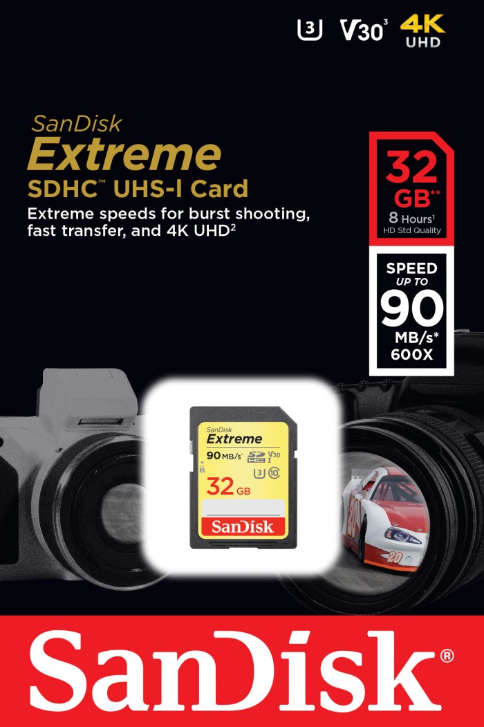 harga Sandisk ultra sdhc 32gb extreme 90mbps/memory sandisk/sdcard/sdhc Tokopedia.com