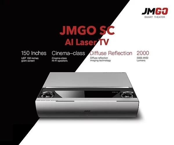 Jual JMGO SC All Laser TV Projector with 2000 ANSI Lumens - Kota Tangerang  Selatan - BEST MEMORY | Tokopedia