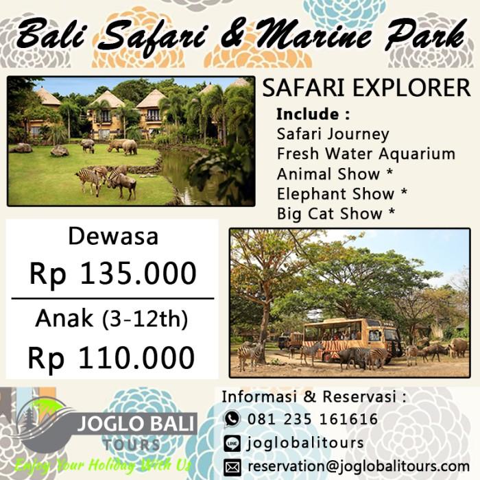 jual voucher tiket bali safari marine park dewasa safari legend rh tokopedia com
