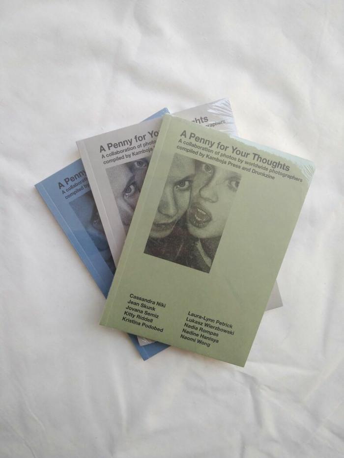 harga Kamboja press x drunk zine - a penny for your thoughts, buku foto Tokopedia.com