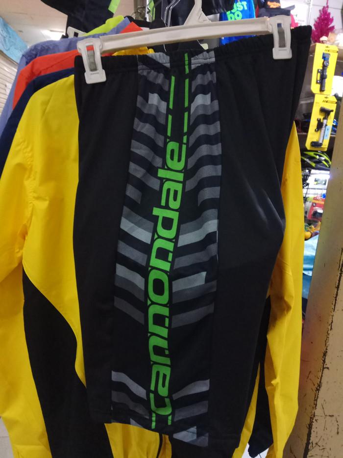 harga Celana sepeda hitam hijau cannondale Tokopedia.com