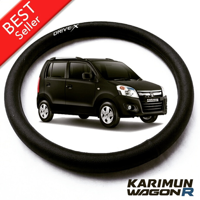 ... Cover Setir Sarung Stir Mobil Suzuki Karimun Wagon R Hitam Polos